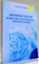 SISTEM DE TESTARE BIOMECANICA SI ANTRENAMENT SPECIFIC IN CANOTAJ de ANCUTA PIRVAN , 2015