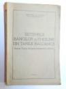 SISTEMELE BANCILOR DE EMISIUNE DIN TARILE BALCANICE de DIMITRIE P. PASCU , 1934 , DEDICATIE*