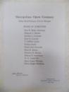 Souvenir Serge de Diaghileff's, Ballet Russe, New York 1916