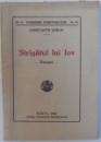 STRIGATUL LUI IOV  - VERSURI de CONSTANTIN GORAN , 1942 , DEDICATIE *