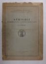 STRIGOII  - DIN CREDINTELE , DATINILE SI POVESTIRILE POPORULUI ROMAN de N. I. DUMITRASCU , 1929