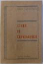 STUDII DE CRIMINOLOGIE de IANCU TANASESCU , 1993
