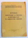STUDII PRIVITOARE LA PRETURI SI RENTABILITATE IN AGRICULTURA ROMANIEI , 1936