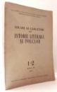 STUDII SI CERCETARI DE ISTORIE LITERARA SI FOLCLOR 1-2 ANUL XII , 1963