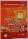 STUDIU DE CULTURA TRADITIONALA ROMANEASCA , PRIVIRE ANALITICA ASUPRA ZONELOR ETNOFOLCLORICE , 2008