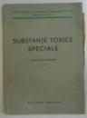 SUBSTANTE TOXICE SPECIALE , 1953