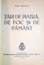 TARI DE PIATRA DE FOC SI DE PAMANT de GEO BOGZA , 1939 , DEDICATIE*