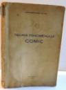 TEORIA FENOMENULUI COMIC de CONSTANTINESCU CLITUS , 1938