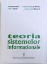 TEORIA SISTEMELOR INFORMATIONALE de TITI PARASCHIV ... VIOREL IULIAN TANASE, 2009