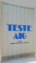 TESTE AIG PENTRU ABILITATI INTELECTUALE GENERALE , 1991