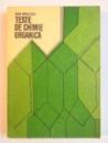 TESTE DE CHIMIE ORGANICA de DORA PARVULESCU , 1977