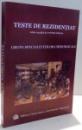 TESTE DE REZIDENTIAT , GRUPA SPECIALITATILOR CHIRURGICALE , 2003