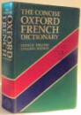 THE CONCISE OXFORD FRENCH DICTIONARY , FRENCH - ENGLISH ENGLISH - FRENCH , 1980