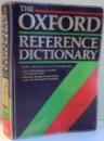 THE OXFORD REFERENCE DICTIONARY by JOYCE M. HAWKINS, ILLUSTRATIONS by SUSAN LE ROUX , 1989