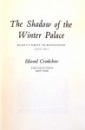 THE SHADOW OF THE WINTER PALACE by EDWARD CRAKSHAW , 1976