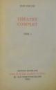 THEATRE COMPLET VOL I-II , 1966