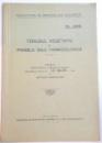 TONUSUL VEGETATIV SI PROBELE SALE FARMACOLOGICE , 1926