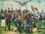 Traiasca Glorioasa Armata Romana, cromolitografie originala