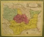 Transylvaniae Moldaviae, Walachie, Bulgarie, Lotter 1760, Transilvania, Moldova si Valahia, Lotter 1760