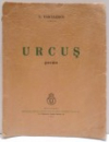URCUS POEME de V. VOICULESCU , 1937