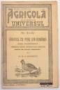 VANATUL CU PENE DIN ROMANIA, CHEIE DICHOTOMICA, NR. 84-85 de DR. R. I. CALINESCU , 1938