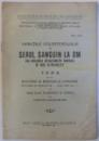 VARIATIILE COLESTEROLULUI IN SERUL SANGUIN LA OM , TEZA PENTRU DOCTORAT IN MEDICINA SI CHIRURGIE de FLORESCU B. CONST. , 1933