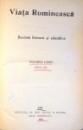 VIATA ROMANEASCA, REVISTA LITERARA SI STIINTIFICA, VOL LXXIV, ANUL XX , 1928