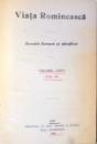 VIATA ROMANEASCA, REVISTA LITERARA SI STIINTIFICA, VOL LXXVI, ANUL XX , 1928
