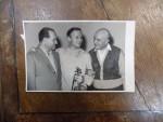 Yehudi Menuhin, David Oistrakh, George Georgescu, fotografie originala