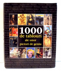 1000 DE TABLOURI ALE UNOR PICTORI DE GENIU de VICTORIA CHARLES , 2007