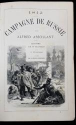 1812 CAMPAGNE DE RUSSIE par ALFRED ASSOLLANT