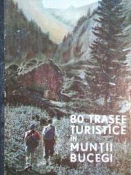80 DE TRASEE TURISTICE IN MUNTII BUCEGI-AL. BELDIE  1968