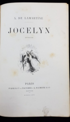 A. DE LAMARTINE, JOCELYN EPISODE - PARIS, 1862