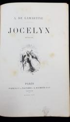 A. DE LAMARTINE, JOCELYN EPISODE - PARIS, 1862