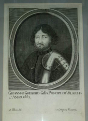 Grigore Ghika,Adriaen van Bloemen Gravura, 1663