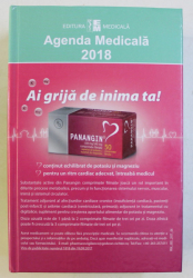 AGENDA MEDICALA 2018 - AI GRIJA DE INIMA TA !