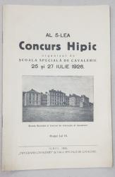 AL 5-lea Concurs Hipic, 25 si 27 IULIE - Sibiu, 1926