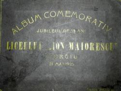 ALBUM COMEMORATIV - JUBILEU DE 55 DE ANI   AL LICEULUI