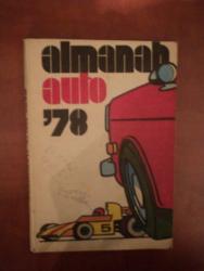 ALMANAH AUTO 1978