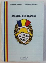 AMINTIRI DIN TRANSEE de GH. OLTEANU , GH. PIETREANU , 2014