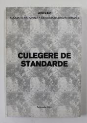 ANEVAR - CULEGERE DE STANDARDE , 2001