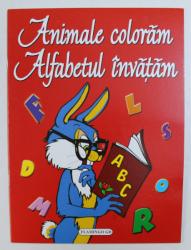 ANIMALE COLORAM , ALFABETUL INVATAM , ilustratii si text de OLIMP VARASTEANU
