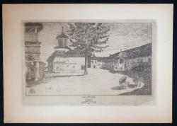 Anton Kaindl (1872-1951) - Manastirea Polovragi