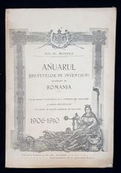 ANUARUL BREVETELOR DE INVENTIUNI ACORDATE IN ROMANIA de ATH. AL. MATEESCU - BUCURESTI