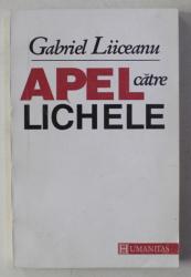 APEL CATRE LICHELE de GABRIEL LIICEANU , 1993