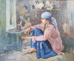 Apostol Manciulescu (1887 - 1962) - La gura sobei