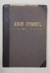 ARON PUMNUL, VOCI ASUPRA VIETII SI INSEMNATATII LUI de ION al lui G. SBIERA - CERNAUTI, 1889