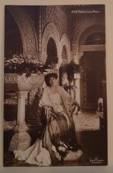 A.S.R. PRINCIPESA MARIA , LA PELES , FOTOGRAFIE TIP CARTE POSTALA , INCEPUTUL SECOLULUI XX