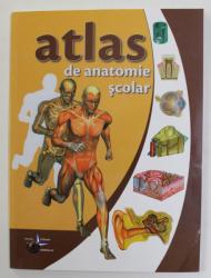 ATLAS DE ANATOMIE SCOLAR , ANATOMIA OMULUI de VLAD VIOLETA , 2014