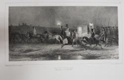 Auguste Raffet (1804-1860) - Arrivee a Kicheneff, (Basarabie)
